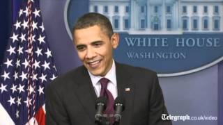 US election 2012_ 'Feckless' Obama wishes Mitt Romney good luck in Super Tuesday