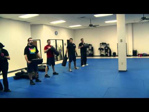 Krav Maga - Capture the Pad Drill Image 1