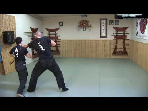 Ninjutsu Weapons - Ninja Weapons Drill - Ninja Training Video Blog Image 1