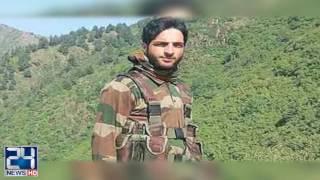 Top rebel commander Sabzar Ahmad Bhat martyr in Kashmir