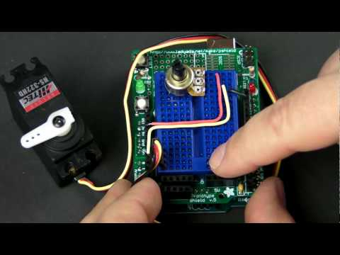 How-To Tuesday: Arduino 101 potentiometers and servos Music Videos