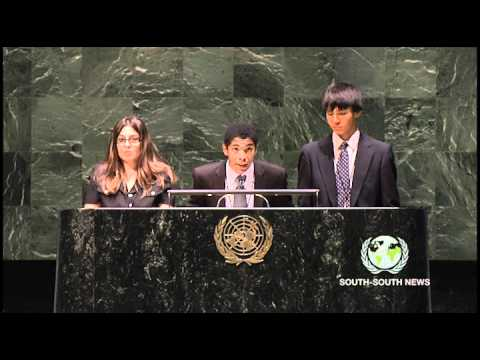 Montessori Model UN Delegates Solve the World's Problems