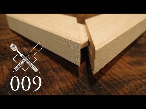 Joint Venture Ep. 9:Hidden. mitered and dovetailed mortise and tenon