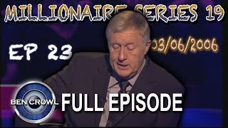 Who Wants to be a Millionaire Series 19 Episode 23 3rd June 2006