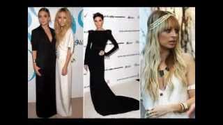 Celebrity fashion lines 2014