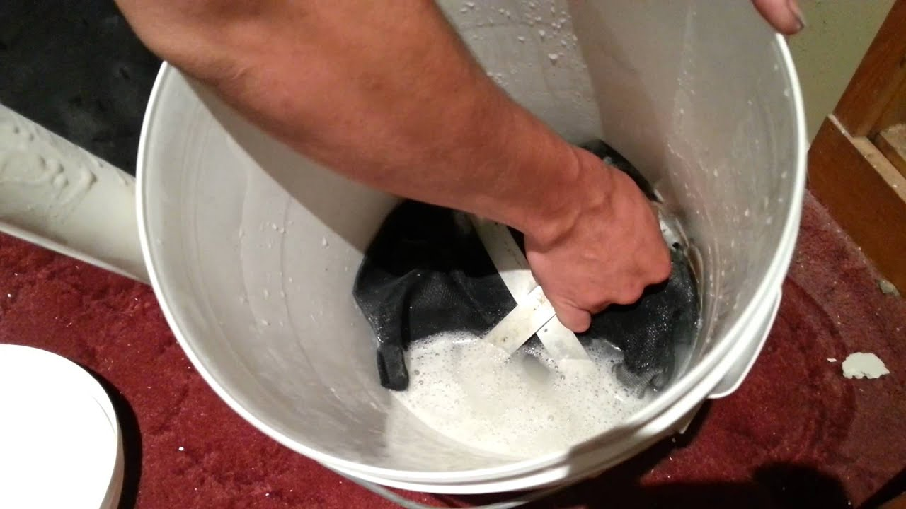 Bong Vac A Water Filtration Plaster Dust Vaccuum Youtube