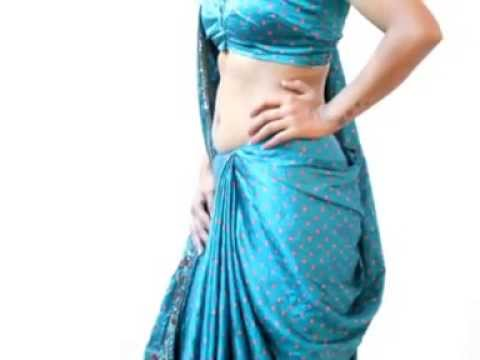 How To Wear A Saree Ulta Pallu Sidha Pallu Amp Different Styles Hot Navel Show Hd YouTube