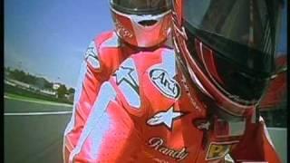 On bike with Randy Mamola Moto GP Montmelo  junio 2 009