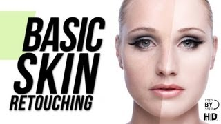 Photoshop Tutorial - Basic Skin Retouching