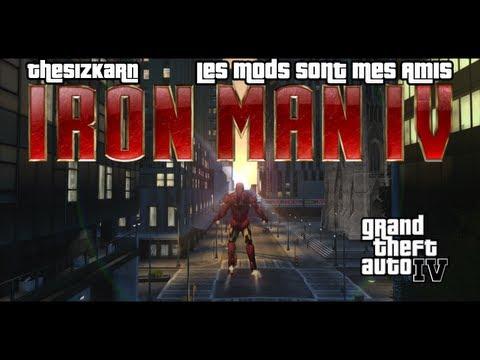 GTA IV - Les Mods sont mes Amis 4 - Iron Man IV