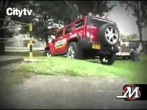 Hummer H3 2008 Kicker Demo Car   Motor Tv Mvil