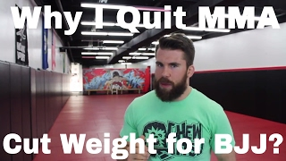Why I Quit MMA, Cutting Weight in BJJ, My Chipped Tooth - 8 Questions With Chewy