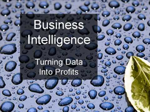 Business Intelligence - Introduction