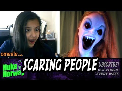 Scary Prank On Omegle 6 - Face Jerk Twerk video