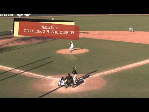 Lewis Baseball Post Game Highlights vs McKendree (DH: W, 9-8, W, 4-0) 3/28/15