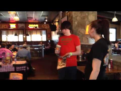 My Birthday at Logan's Roadhouse