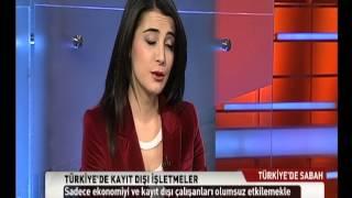 TRT TÜRK Türkiye'de Sabah, Öz İplik-İş Sendikası Genel Başkanı Murat İnanç