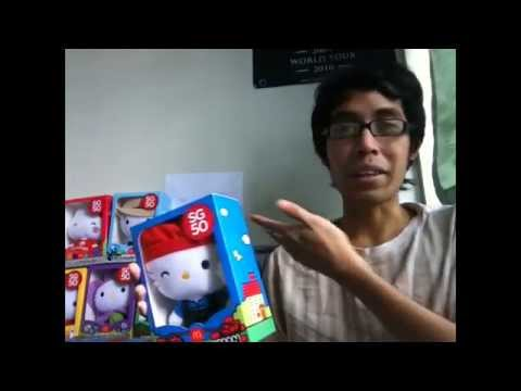 My Hunt for the SG50 Hello Kitty Plush Toys - Week 5 (FINAL) - Samsui Woman UNBOXING!!!