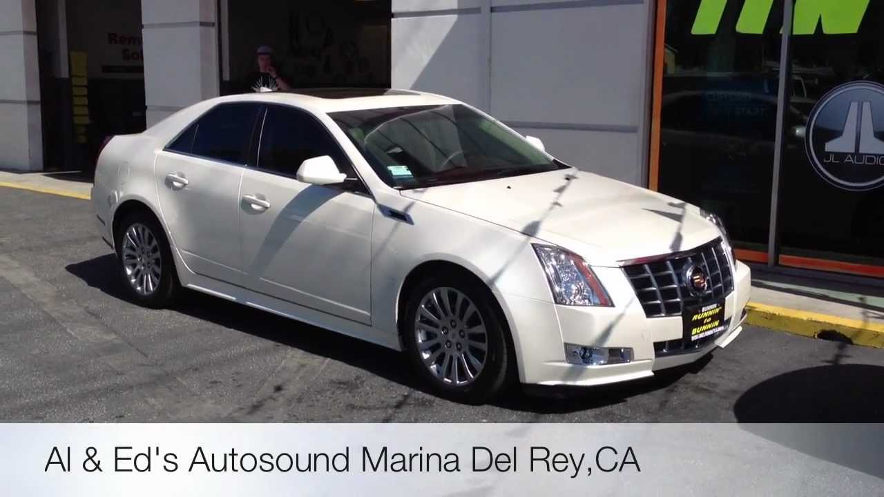 Window Tinting Venice Beach 2012 Cadillac Cts Pearl White
