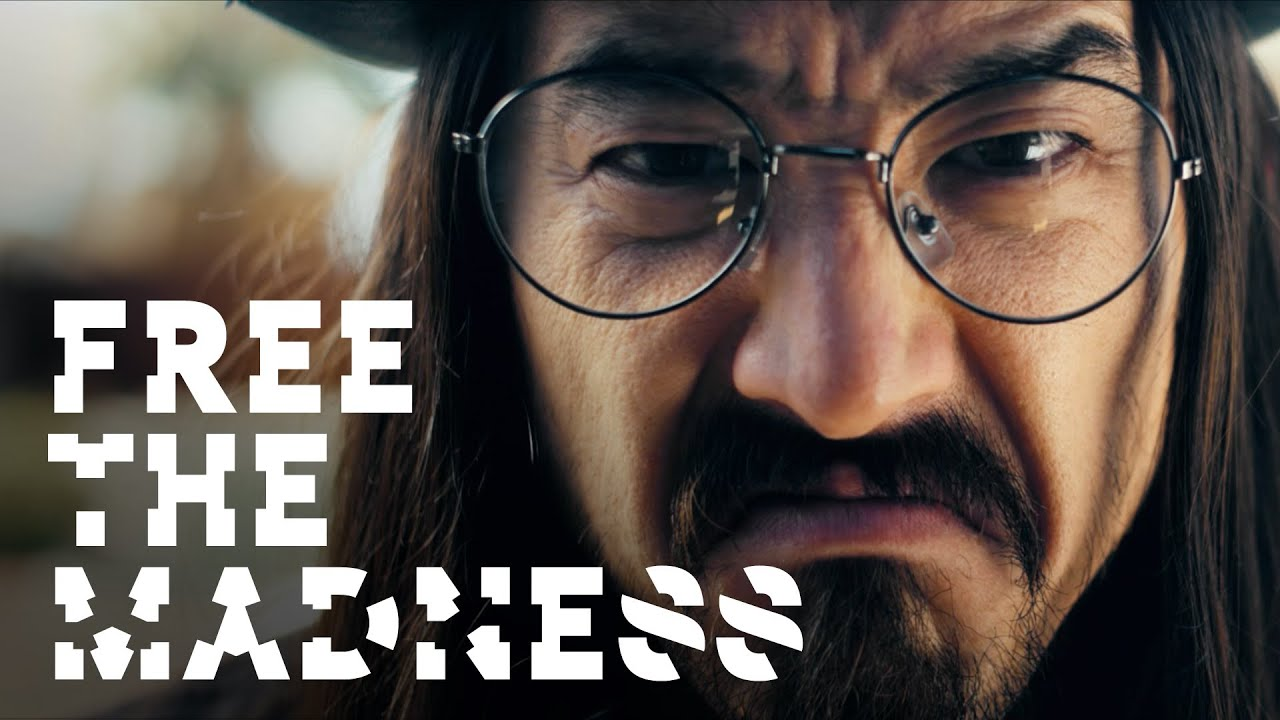 Steve Aoki ft Machine Gun Kelly - Free The Madness (2014) 1080p