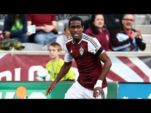 GOAL: Atiba Harris finishes a nice cross | Colorado Rapids vs. Chivas USA