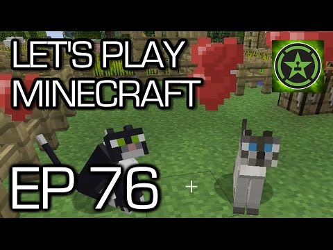 Let's Play Minecraft - Episode 76 - Actual Petting Zoo