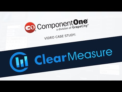 Studio for LightSwitch & Wijmo Video Case Study: Clear Measure
