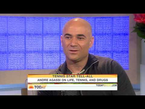 Today Show: Andre Agassi On Life, Tennis, & Drugs