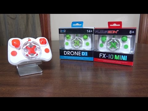Floureon - FX-10 Mini (2015 World's Smallest Quadcopter) - Review and Flight