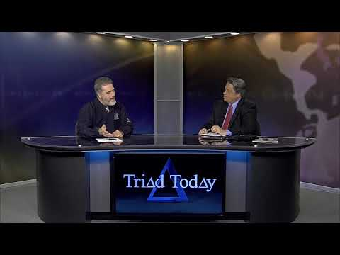 Triad Today interview with UNCG's David Holley