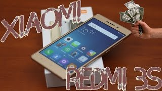 Распаковка телефона Xiaomi Redmi 3S с Aliexpress