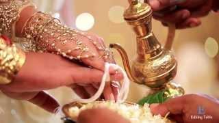 Lovely Wedding Couple ~ Nayanathara & Chamara