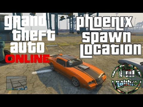 Phoenix Spawn Location Gta V Online