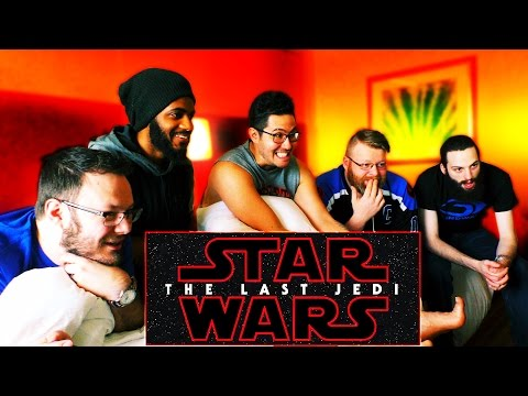 Star Wars: The Last Jedi Official Teaser REACTION From STAR WARS CELEBRATION!!
