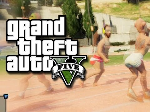 The GTA 5 Drunken Olympics! – Track and Field! (GTA 5 Online Skits and Funny Moments!) KYR SP33DY