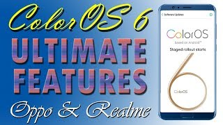 ColorOS 6 Update ultimate new features in all oppo and realme smartphones | Color OS 6.0