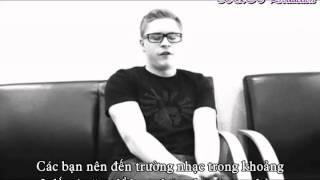 [Vietsub- BQH Production] Interview with Gustav Schäfer