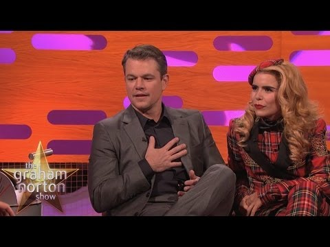 Matt Damon Controls the Red Chair - The Graham Norton Show