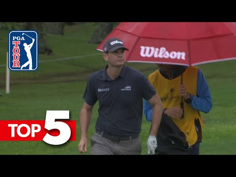 Brendan Steele's hole out from the bunker leads Shots of the Week