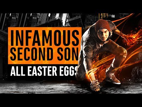 Infamous Second Son | 40 Easter Eggs, Secrets and References