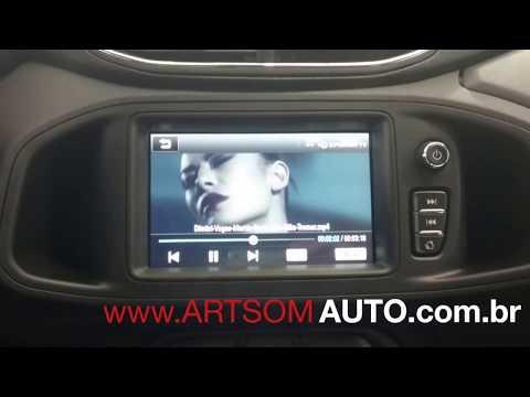Desbloqueio MyLink 2 - Vídeo com o carro em Movimento - Demonstração no Chevrolet Onix