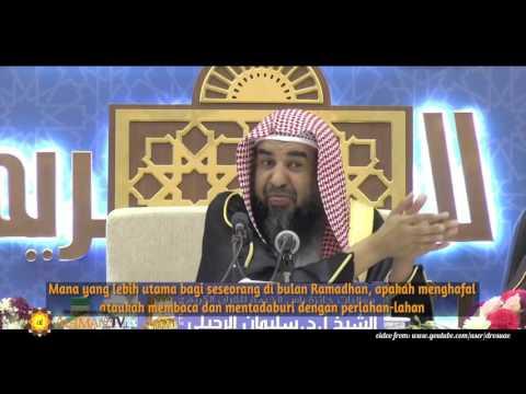 Tanya Jawab: Lebih Utama Membaca Al-Quran atau Membacanya? - Syaikh Sulaiman Ar Ruhaily