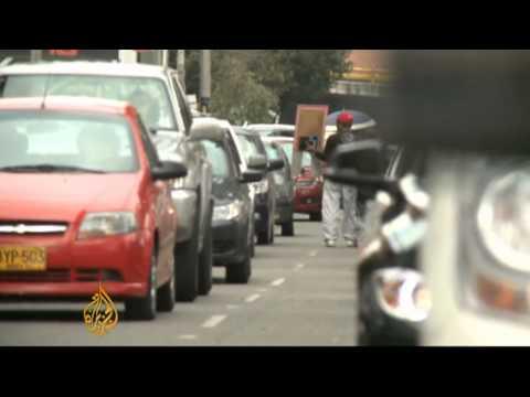 Bogota turns to two wheels