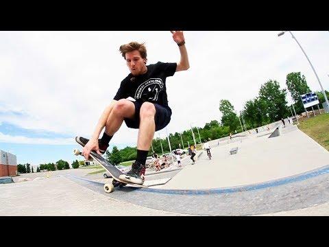 Ethernal Skate Films / David Trepanier, Jeff Huard & Alex Girouard @ Boisbriand skatepark
