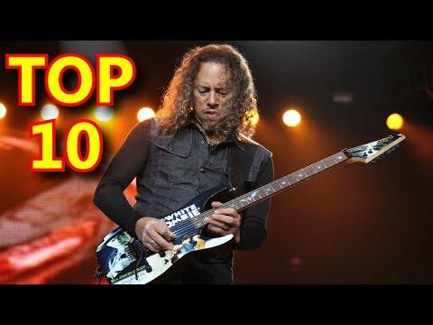 Top 10 Solos De Guitarra Inolvidables De Todos Los Tiempos!