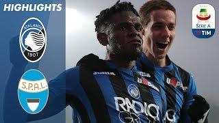 Atalanta 2-1 SPAL | Duvan Zapata's comeback maintains Atalanta's Champions League pace | Serie A