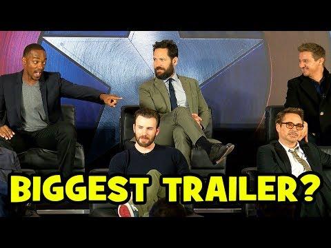 Who Has The BIGGEST TRAILER? - Captain America Civil War Cast