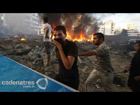 Israel reanuda ataques contra Gaza y culpa a Hamás / Israel resumes attacks on Gaza