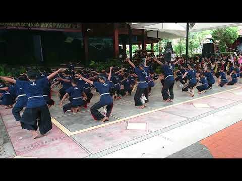 Pelatihan Tari Warok dan Jathil TMII 2018