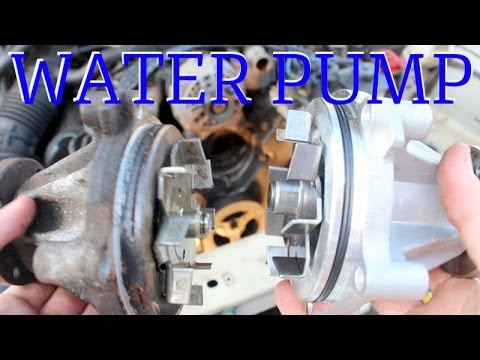 1996 MUSTANG GT WATER PUMP REPLACEMENT 1994-2004
